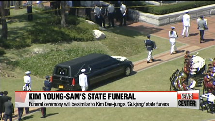 Kim Young-sam funeral PDP record
