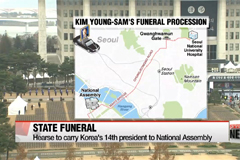 Korea to hold state funeral for former president Kim Young-sam