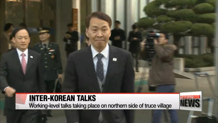 Delegations from two Koreas discuss details for high-level talks