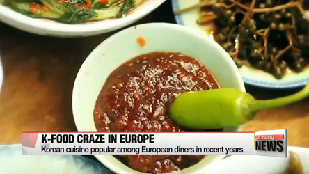 Popularity of Korean food rises across Europe
