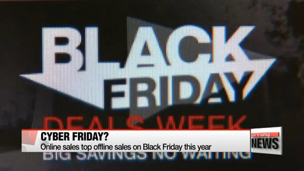 Online sales up, offline sales down for Black Friday in U.S.
