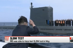 N. Korean leader presumably watched failed SLBM test: Seoul spy agency