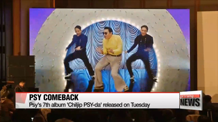Korean rapper Psy is back with new video