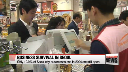 Eight in ten retail businesses in Seoul fail within 10 yrs: Data