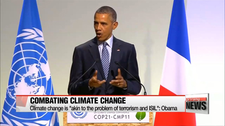 Obama ties global warming to terrorism