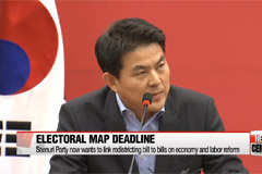 National Assembly speaker sets Feb. 19 as deadline for electoral map vote
