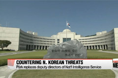 Park names new deputy directors for spy agency amid N. Korean threats