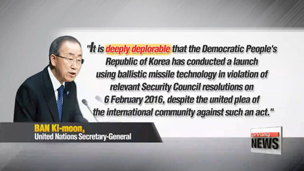 Seoul's Foreign Affairs Ministry in cooperation with partners to deal with North Korea threat