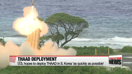 U.S. hopes to deploy THAAD in S. Korea as soon as possible