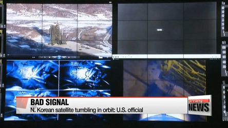 N. Korean satellite tumbling in orbit: U.S. official