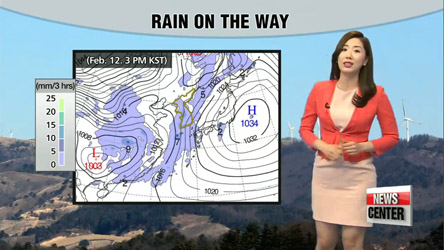 Double digits highs for most parts, rain ahead