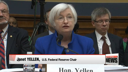 China, global conditions may throw U.S. economy off course: Yellen