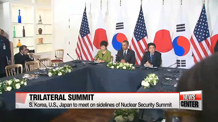 President Park to hold trilateral summit with Obama, Abe during Nuclear Security Summit