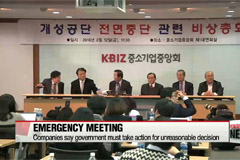 Korean firms call for compensation following shutdown of industrial complex
