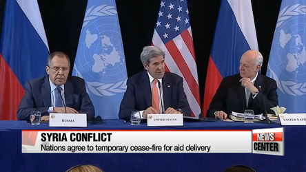 Major powers agree to ceasefire in Syria