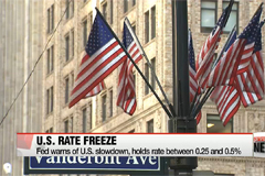 Federal Reserve holds rates steady citing need to monitor global economy