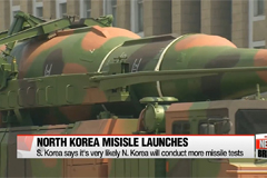 S. Korea says it's very likely N. Korea will conduct more missile tests