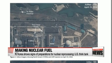 N. Korea shows signs of preparations for nuclear reprocessing: U.S. think tank