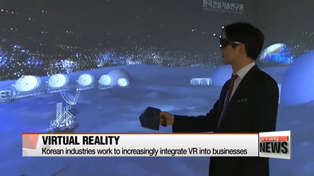 Virtual reality expands presence in various industries
