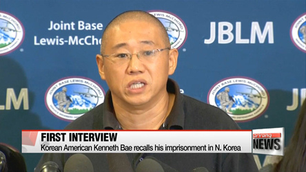 Korean American Kenneth Bae recalls his imprisonment in N. Korea