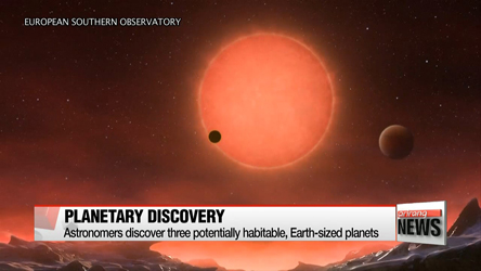 Astronomers discover 3 potentially habitable, Earth-sized planets