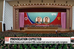 N. Korea could conduct fifth nuclear test around rare party congress, S. Korea says