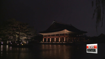 Gyeongbokgung Palace opens for night tours through June 2