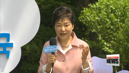 President Park delivers Children's Day message