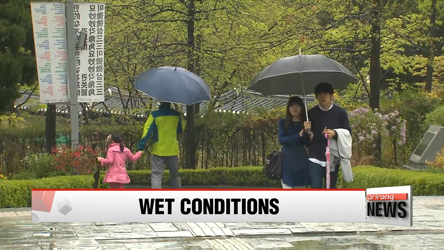 Showers to continue through long weekend