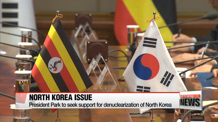 Diplomacy and N. Korea on agenda for Park's visit to Africa