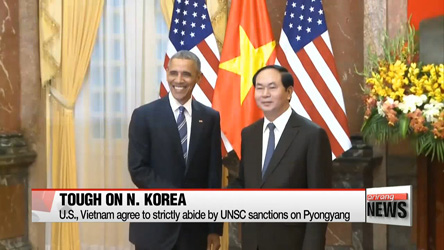 U.S., Vietnam to cooperate in preventing nuclear expansion of N. Korea