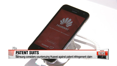 Samsung considers countersuing Huawei against patent infringement claim