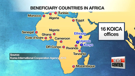 S. Korea to expand development assistance to Africa