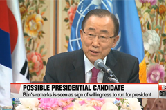 Ban Ki-moon to ponder future after term ends