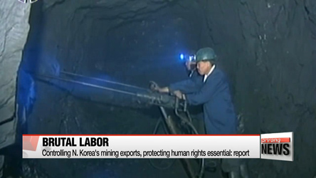 N. Korea's mining exports should be restricted: report