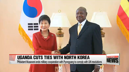 President Park wraps up Uganda trip and heads to Kenya
