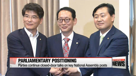 Parties continue closed-door talks on key National Assembly posts