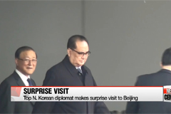 Top N. Korean diplomat makes surprise visit to Beijing, set to meet Xi Jinping on Wednesday