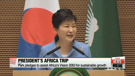 President Park's Africa trip bears fruit in business, nuclear diplomacy