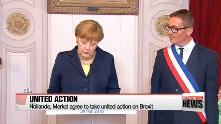 France and Germany agree to take united action on Brexit
