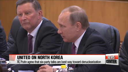 Xi, Putin urge N. Korea to halt nuclear and missile programs