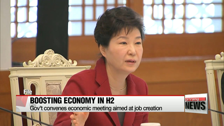 President Park says reforms and restructuring must continue to create jobs