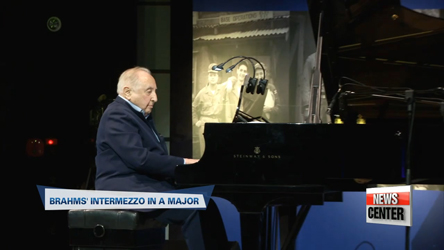 Pianist Seymour Bernstein plays concert in Seoul for fellow Korean War veterans