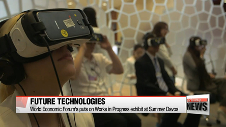 Summer Davos offers glimpse into future with array of emerging technologies