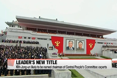 Will N. Korea give Kim Jong-un new title at Supreme People's Assembly?
