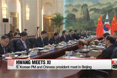 Korean PM and Chinese president discuss N. Korea during one-on-one talks