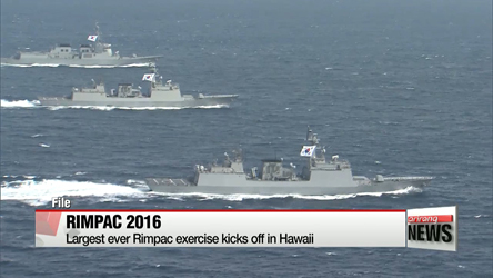 Largest ever Rimpac exercise kicks off in Hawaii