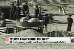 U.S. puts N. Korea among world's worst countries for human trafficking