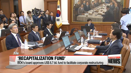 Korea's recapitalization fund worth US$ 9.5 bil. kicks off to facilitate restructuring