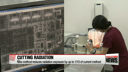 Korean researchers develop way to reduce radiation dose from X-rays, CTs